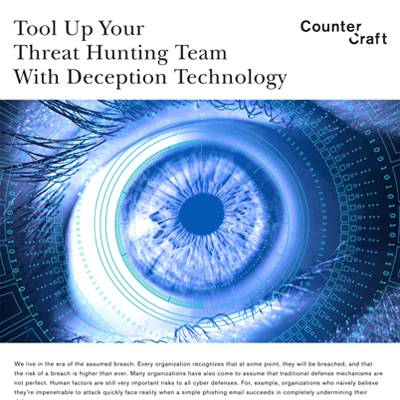 Tool Up Your Threat Hunting Team With Deception Technology