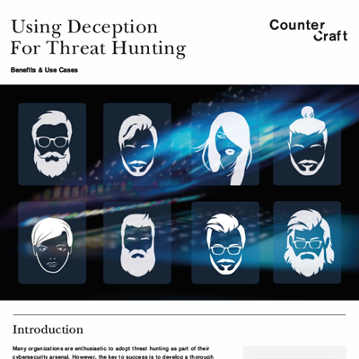 Using Deception For Threat Hunting